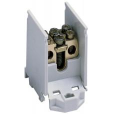 Клеммник вводно/распределительный 1п, 1x25/2x16кв.мм Hager K02SN