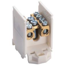 Клеммник вводно/распределительный 1п, 1x25/4x16кв.мм Hager K03SN