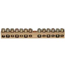 Клемма без держателя 6x16+7x10мм2 Hager K148