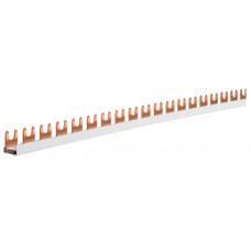 Шина з'єднувальна вилочна, 1-полюсна на 57 модулів, з ізоляцією, 10мм2 Hager KDN163B
