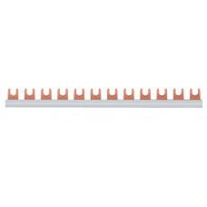Шина з'єднувальна вилочна, 1-полюсна на 12 модулів, з ізоляцією, 16мм2 Hager KDN180A