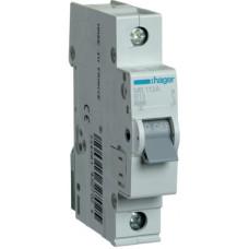 Автоматический выключатель In=13 А, 1п, В, 6 kA, 1м Hager MB113A