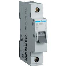 Автоматический выключатель In=16А, 1п, В, 6 kA, 1м Hager MB116A