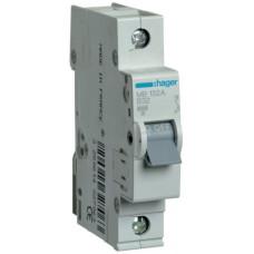 Автоматический выключатель In=32 А, 1п, В, 6 kA, 1м Hager MB132A