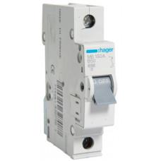 Автоматический выключатель In=50 А, 1п, В, 6 kA, 1м Hager MB150A