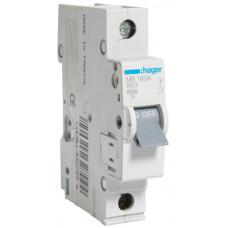 Автоматический выключатель In=63 А, 1п, В, 6 kA, 1м Hager MB163A