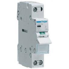 Выключатель нагрузки 1-пол. с индикацией при выключении, 16А/230В, 1м Hager SBB116