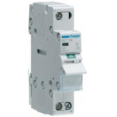 Выключатель нагрузки 1-пол. с индикацией при включении, 16А/230В, 1м Hager SBT116