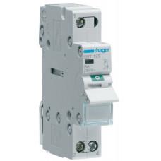 Выключатель нагрузки 1-пол. с индикацией при включении, 25А/230В, 1м Hager SBT125