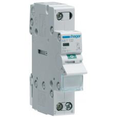 Выключатель нагрузки 1-пол. с индикацией при включении, 32А/230В, 1м Hager SBT132
