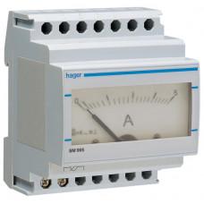 Амперметр аналоговий, прямого включення, 0-5А, 4м Hager SM005