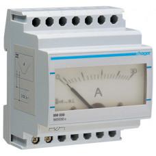 Амперметр аналоговий, прямого включення, 0-30А, 4м Hager SM030