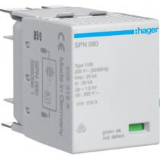 Фазний картридж 25kA, клас 1, для SPN8xxx Hager SPN080