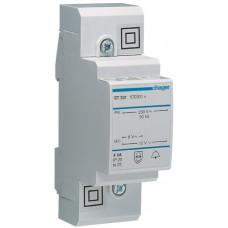 Трансформатор модульный для звонка 230В/8-12 В, 4ВА, Hager ST301