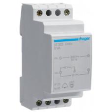 Трансформатор модульный для звонка 230В/8-12 В, 8ВА, Hager ST303