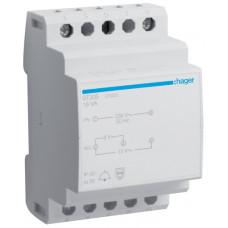 Трансформатор модульный для звонка 230В/8-12 В, 16ВА, Hager ST305