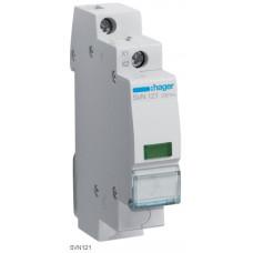 Індикатор LED 230В, зелений, 1м Hager SVN121