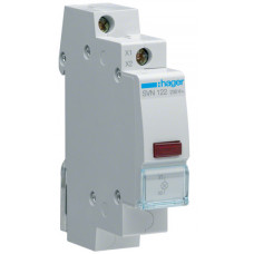 Індикатор LED 230В, червоний, 1м Hager SVN122