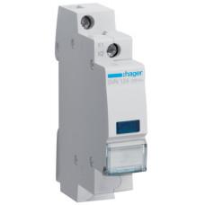 Індикатор LED 230В, синій, 1м Hager SVN124