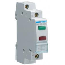 Індикатор подвійний LED, 230В, зелений та червоний, 1м Hager SVN126
