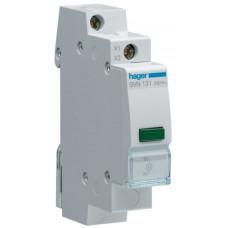 Індикатор LED 12/48 В, зелений, 1м Hager SVN131