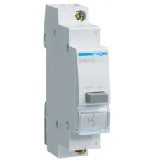 Выключатель кнопочный 230В/16А, 1НО, 1м Hager SVN312