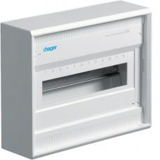 Щит распределительный на 12(14) модуля, наружной установки без дверцы, VOLTA Hager VA12CN