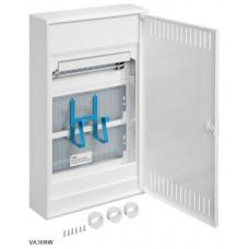 Щит 3-рядний для ММ-обладнання, з/у з металевими дверями, VOLTA Hager VA36NW