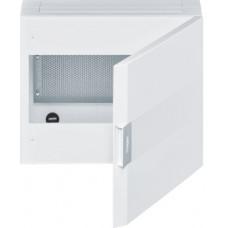 Щит з/у для ММ-обладнання, білі двері, 1-ряд, VEGA Hager VB118MP