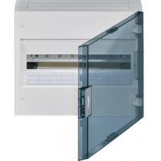 Щит наружной установки с прозрачной дверцей, 18 мод. (1х18), VEGA Hager VB118TB