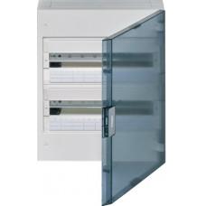 Щит наружной установки с прозрачной дверцей, 36 мод. (2х18), VEGA Hager VB218TB