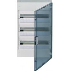 Щит наружной установки с прозрачной дверцей, 54 мод. (3х18), VEGA Hager VB318TB