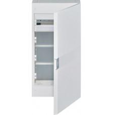 Щит з/у, білі двері, 18M + 3 ряди для ММ-обладнання, VEGA Hager VB418MMP