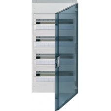 Щит наружной установки с прозрачной дверцей, 72 мод. (4х18), VEGA Hager VB418TB