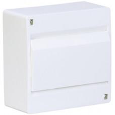 Щит наружной установки с белой дверцей 6 мод. COSMOS Hager VD106PD