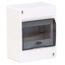Щит наружной установки с прозрачной дверцей 6 мод. COSMOS Hager VD106TD