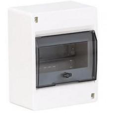 Щит наружной установки с прозрачной дверцей 8 мод. COSMOS Hager VD108TD