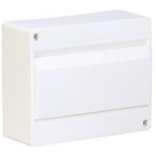 Щит наружной установки с белой дверцей 10 мод. COSMOS Hager VD110PD