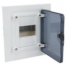 Щит внутренней установки с прозрачной дверцей, 4 мод. (1х4), GOLF Hager VF104TD
