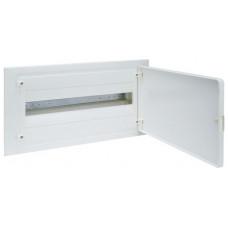 Щит внутренней установки с белой дверцей, 8 мод. (1х8), GOLF Hager VF108PD