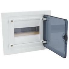 Щит внутренней установки с прозрачной дверцей, 8 мод. (1х8), GOLF Hager VF108TD