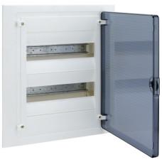 Щит внутренней установки с прозрачной дверцей, 24 мод. (2х12), GOLF Hager VF212TD