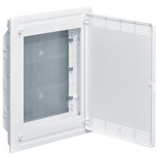 Щит 3-рядный для ММ-оборудования, в/у, белые пластиковые перфорированные двери, GOLF VF318PZF