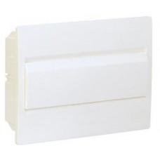 Щит внутренней установки с белой дверцей 8 мод. COSMOS Hager VR108PD