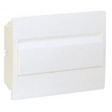 Щит внутренней установки с белой дверцей 12 мод. COSMOS Hager VR112PD