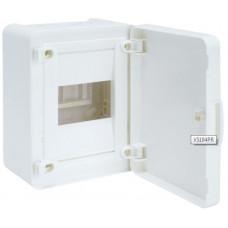 Щит наружной установки с белой дверцей, 4 мод. (1х4), GOLF Hager VS104PD