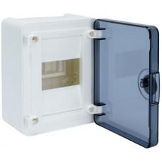 Щит наружной установки с прозрачной дверцей, 4 мод. (1х4), GOLF Hager VS104TD