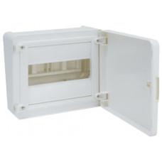 Щит наружной установки с белой дверцей, 8 мод. (1х8), GOLF Hager VS108PD