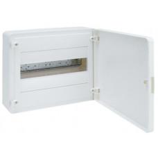Щит наружной установки с белой дверцей, 12 мод. (1х12), GOLF Hager VS112PD