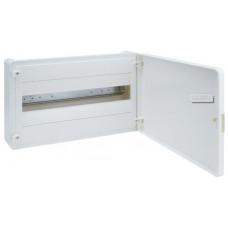 Щит наружной установки с белой дверцей, 18 мод. (1х18), GOLF Hager VS118PD